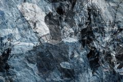 Crumpled Bluish Paper Stock Photo