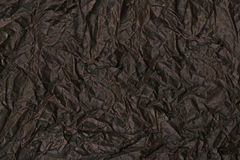 Crumpled brown paper background Royalty Free Stock Photos
