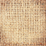 Crumpled burlap Royalty Free Stock Photo