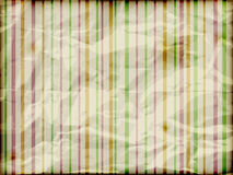 Crumpled burning striped background Stock Images
