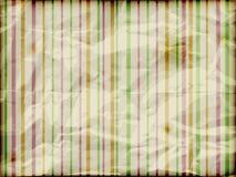 Crumpled burning striped background. Striped background on crumpled burning paper Stock Images