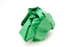 Crumpled Construction Paper Royalty Free Stock Photography