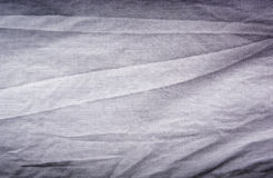 Crumpled Cotton. Shirt with creases and texture royalty free stock photos