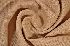 Crumpled  cotton canvas for needlework as background Royalty Free Stock Photos