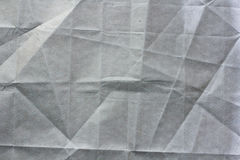 Crumpled craft paper. Crumpled craft gray paper background royalty free stock photos
