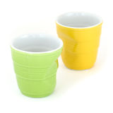 Crumpled Cups Royalty Free Stock Photo