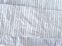 Crumpled DNA sequence Stock Photos