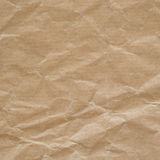 Crumpled eco paper texture. Background Royalty Free Stock Photos