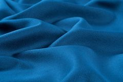 crumpled fabric background and texture. Royalty Free Stock Image