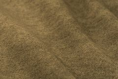 crumpled fabric background and texture. Royalty Free Stock Photography