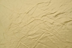 Crumpled fabric background. Royalty Free Stock Images