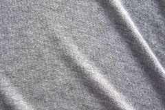 Gray fabric texture background, Crumpled fabric texture, cloth background royalty free stock photos