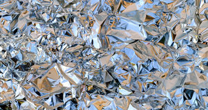 Crumpled Foil Royalty Free Stock Photos