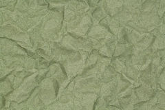 Crumpled green paper with blotches Stock Photo