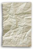 Crumpled line paper Royalty Free Stock Photos