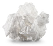 Crumpled napkin Royalty Free Stock Photos