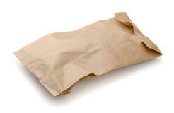 Crumpled package Stock Image