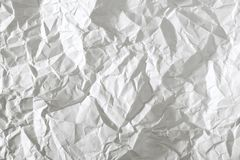 Crumpled paper stock images