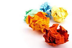 Free Crumpled Paper. Royalty Free Stock Photos - 24903038