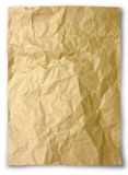 Crumpled Paper. For background usage stock photo