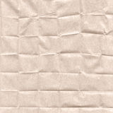 Crumpled paper. A porous paper. The thin structure fine chaotic fibers is visible Stock Image