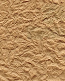 Crumpled Paper. Old and crumpled paper background. High-resolution scan royalty free stock images