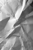 Crumpled paper. May be used as background Royalty Free Stock Photo