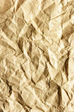 Crumpled paper. May be used as background Stock Image