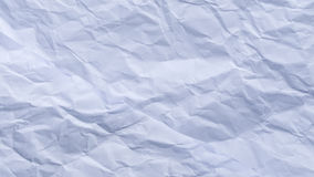 Crumpled paper as background texture Royalty Free Stock Photo