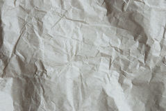 Crumpled Paper As Texture Or Background, Copy Space Royalty Free Stock Photo