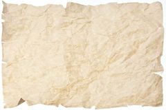 Crumpled paper background royalty free stock photo