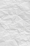 Crumpled paper background Stock Images