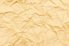 Crumpled paper for background. The crumpled paper for background Royalty Free Stock Image