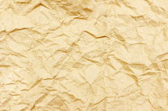 Crumpled paper for background. The crumpled paper for background Stock Image