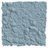 Crumpled paper background. With torn edges square Stock Photo