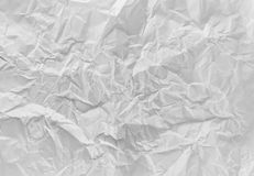 Crumpled paper background Stock Photography