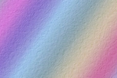 Crumpled  paper background. Crumpled color Rainbow paper background Royalty Free Stock Images