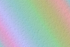 Crumpled  paper background. Crumpled color Rainbow paper background Royalty Free Stock Photography
