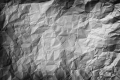 Crumpled Paper Background Royalty Free Stock Photography