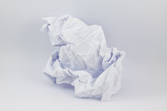 Crumpled paper background. The surface of the crumpled paper,aper crumpled seamless Royalty Free Stock Image