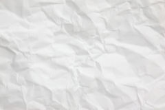 The crumpled paper background texture pattern Royalty Free Stock Image
