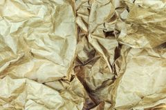 Crumpled paper background vignette f Stock Photos
