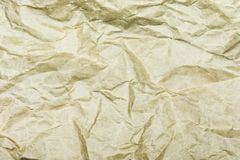 Crumpled paper background vignette f Stock Photography