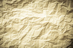 Crumpled paper background vignette Royalty Free Stock Photo