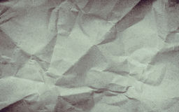 Crumpled paper background vignette space for text or image. Stock Image