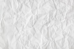 Crumpled paper background Royalty Free Stock Photos