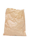 Crumpled paper bag Stock Image