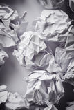 Crumpled paper balls Stock Photography