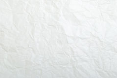 Background - a crumpled sheet. Stock Photography