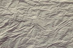 Crumpled paper. Texture for background Stock Photos